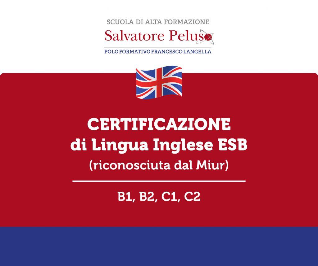 Certificazione Di Lingua Inglese E S B A Pagani Polo Formativo